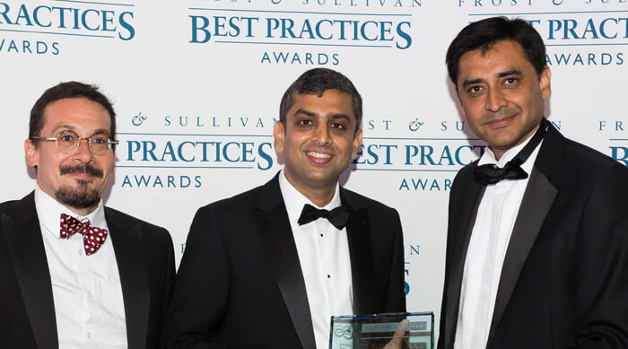 Frost & Sullivan Global Product Innovation Award for CLOUDPORT