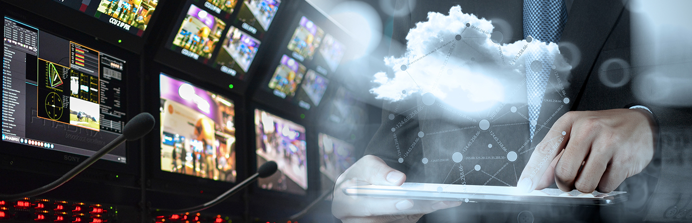 Scaling broadcast operations with the cloud