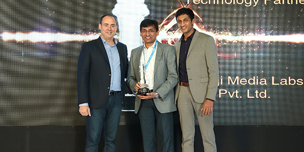 "Amagi achieves award for ""Rising Star – Technology Partner (South India)"" AWS Partner Network Excellence Awards 2016"