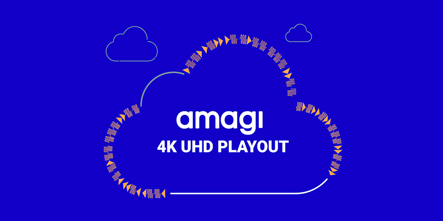 AMAGI ANNOUNCES UHD PLAYOUT ON AWS