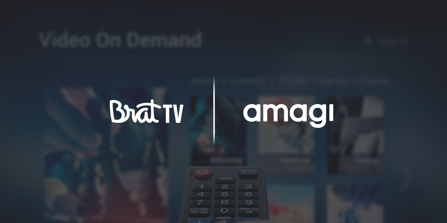 Brat TV Chooses Amagi to Expand its Streaming TV Footprint