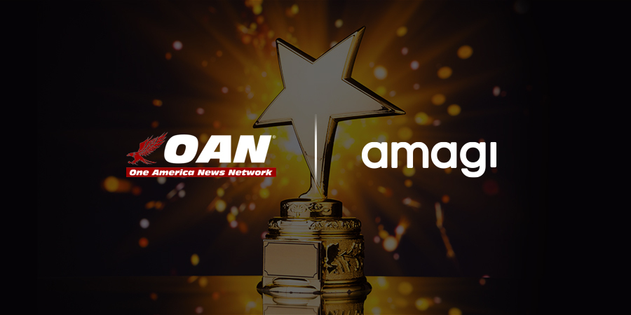Amagi Presented with Supplier of the Year Award by Herring Networks, Inc.