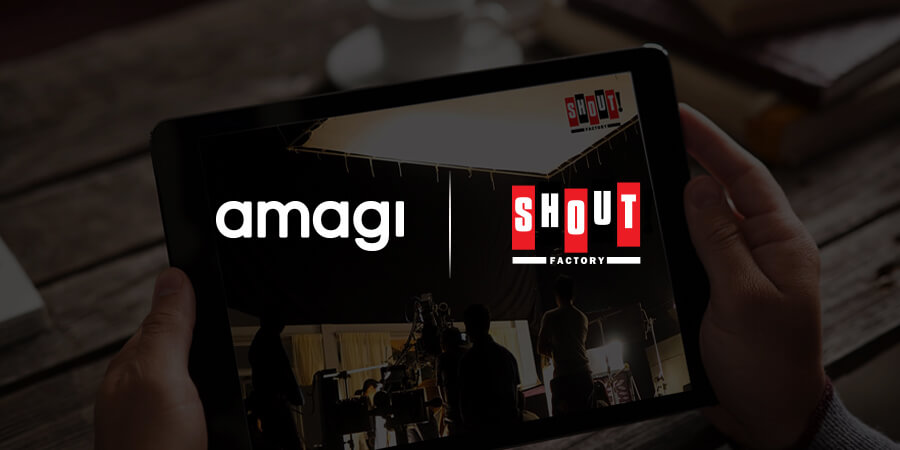 Shout! Factory TV Creates Linear OTT Feed with Amagi CLOUDPORT