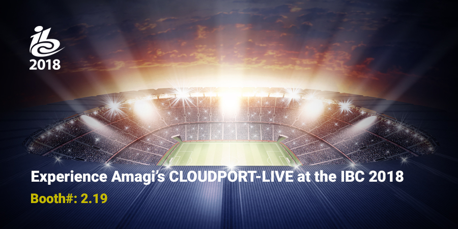 Amagi Breaks New Ground in Live Broadcast with Debut of CLOUDPORT- LIVE