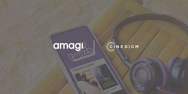 Cinedigm Delivers CONtv to Twitch Using Amagi CLOUDPORT