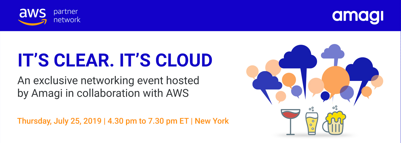 Amagi - AWS Networking Event